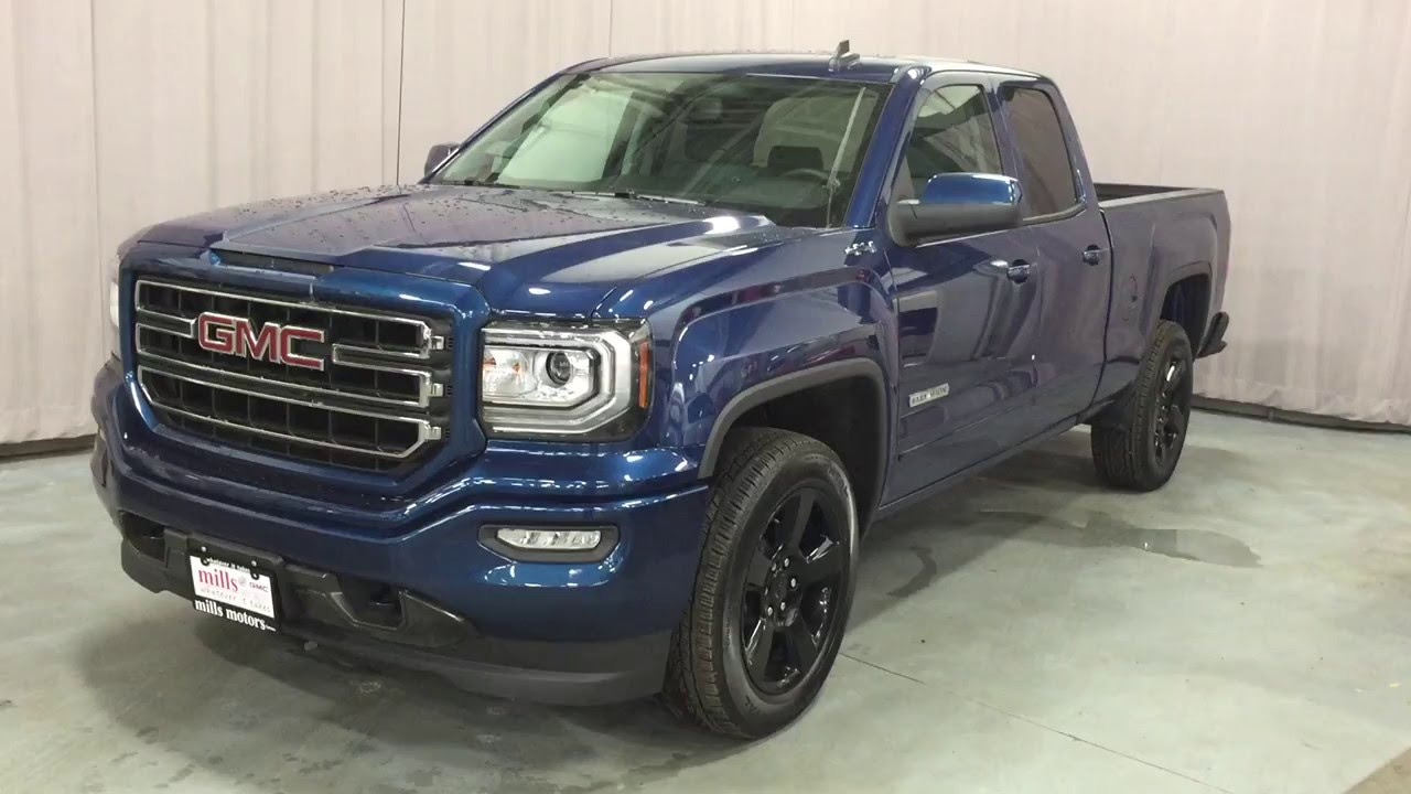 2016 Gmc Sierra 1500 Double Cab 4wd Elevation Edition 20in