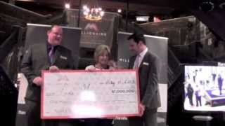Linda G. wins $1 million in Tunica Millionaire Maker Giveaway