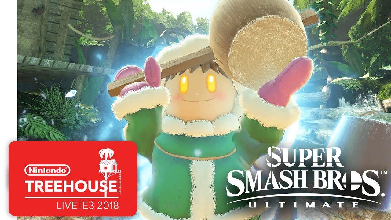 Super Smash Bros. Ultimate Gameplay Pt. 5 - Nintendo Treehouse: Live | E3 2018