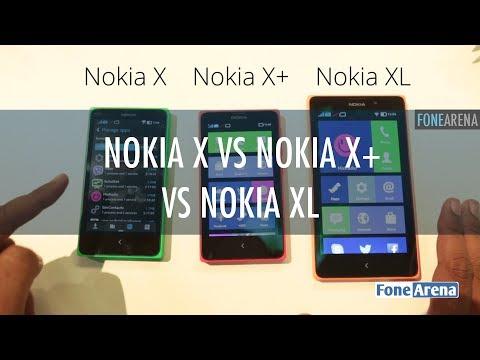 Nokia Android Smartphones - Nokia X vs X+ vs XL