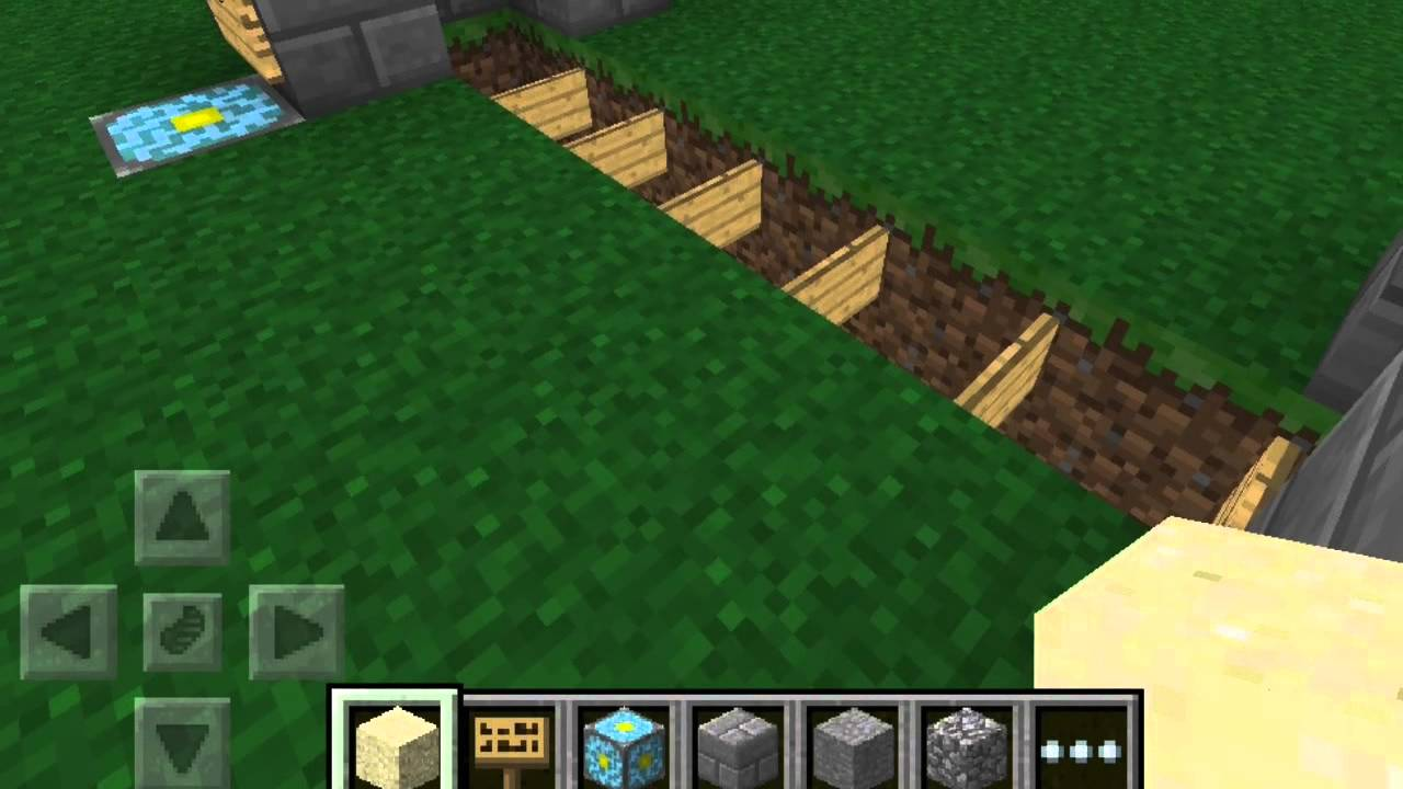 minecraft pe how to build a speedboat
