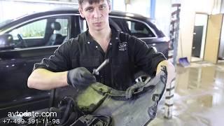 Fullen Polymer. Ремонт крепления бампера без покраски!!! Audi Q7