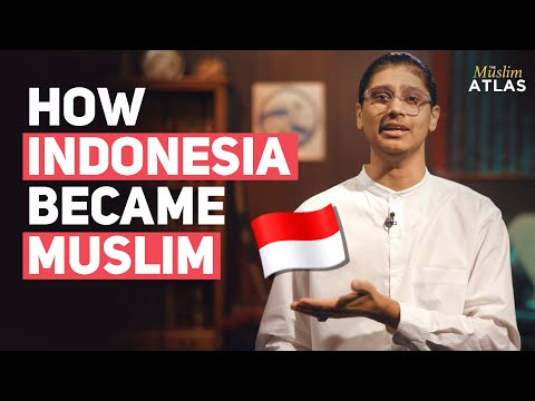 How did Indonesia gain the largest Muslim population on Earth?