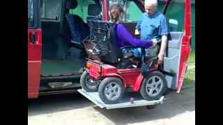 Электроколяска  Nvacar Garant и Volkswagen T4 с лифтом подъемником