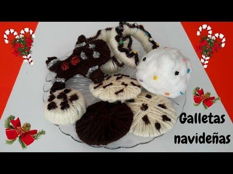 Adorno navideño de galletas muy fácil de hacer/DIY económico/ decoraciones navideñas