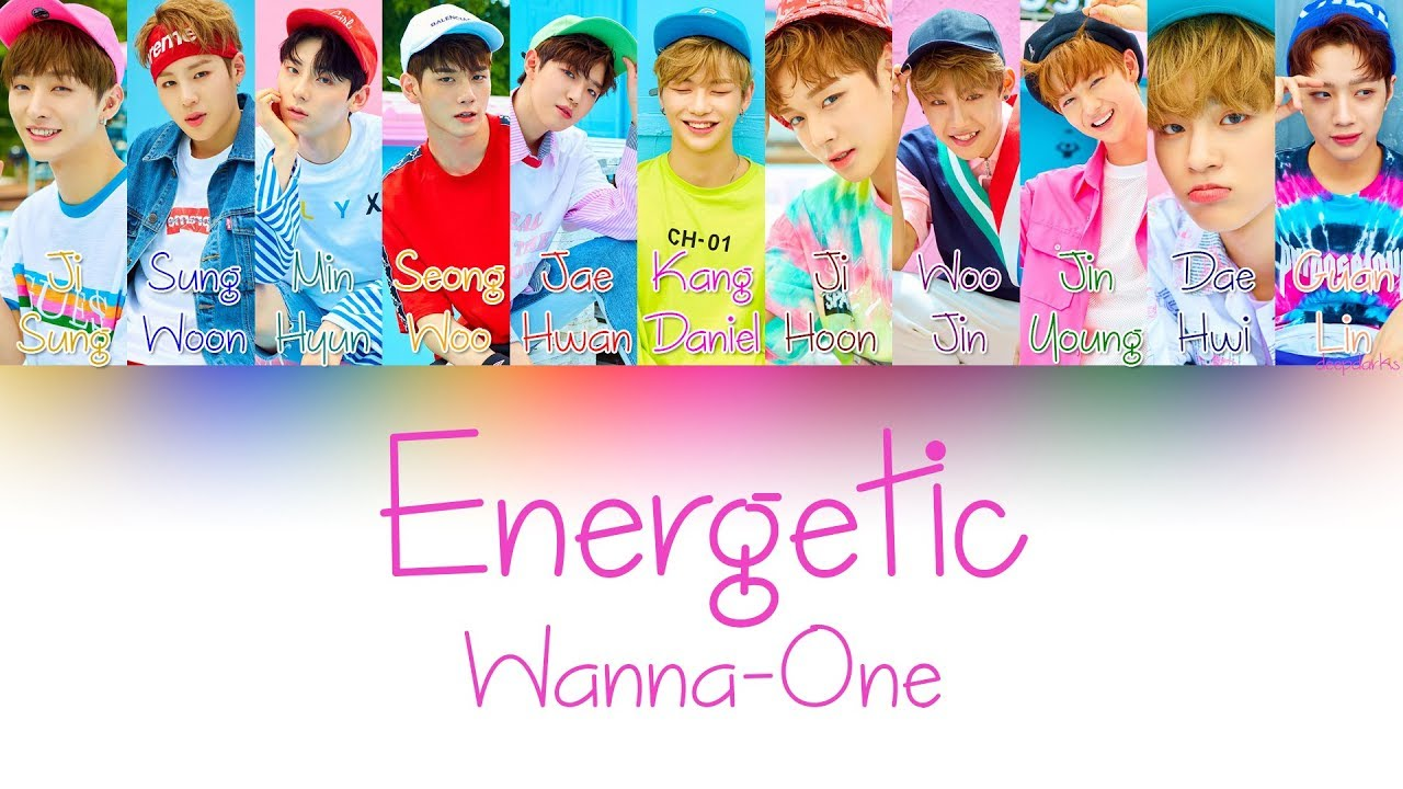 Wanna One - ENERGETIC (Color Coded Lyrics | Han/Rom/Eng)