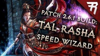 Diablo 3 Season 16 Wizard Tal Rasha Speed build guide (and bounties) (Patch 2.6.4)