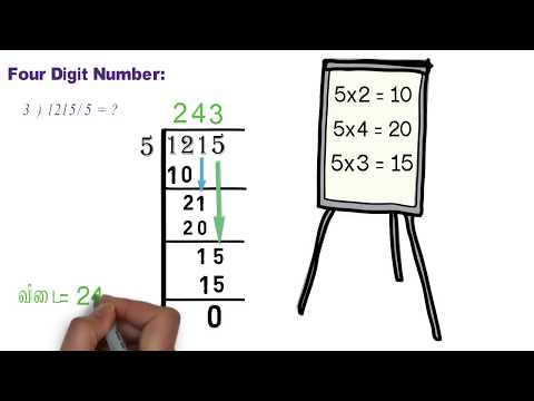 HOW TO CALCULATE DIVISION IN TAMIL |...