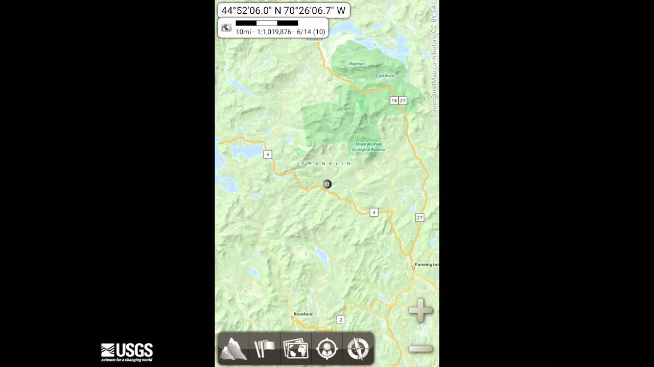 Using USGS The National Map Data on Mobile Devices - YouTube