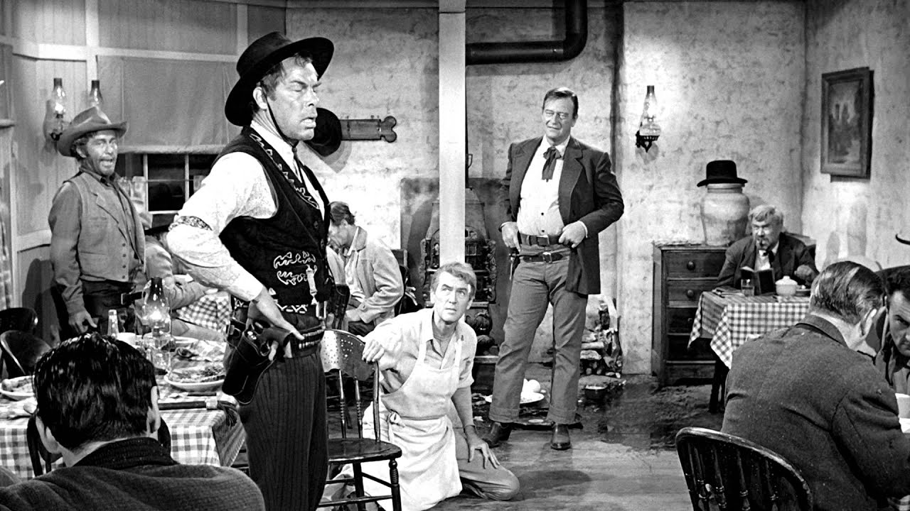 Image result for dining room scene in the man who shot liberty valance