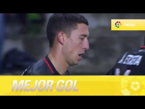 Óscar de Marcos marca el golazo de la jornada 28 en el Sporting de Gijón - Athletic Club