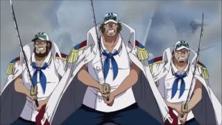 ONE PIECE GUERRA MARINEFORD HD  AMV