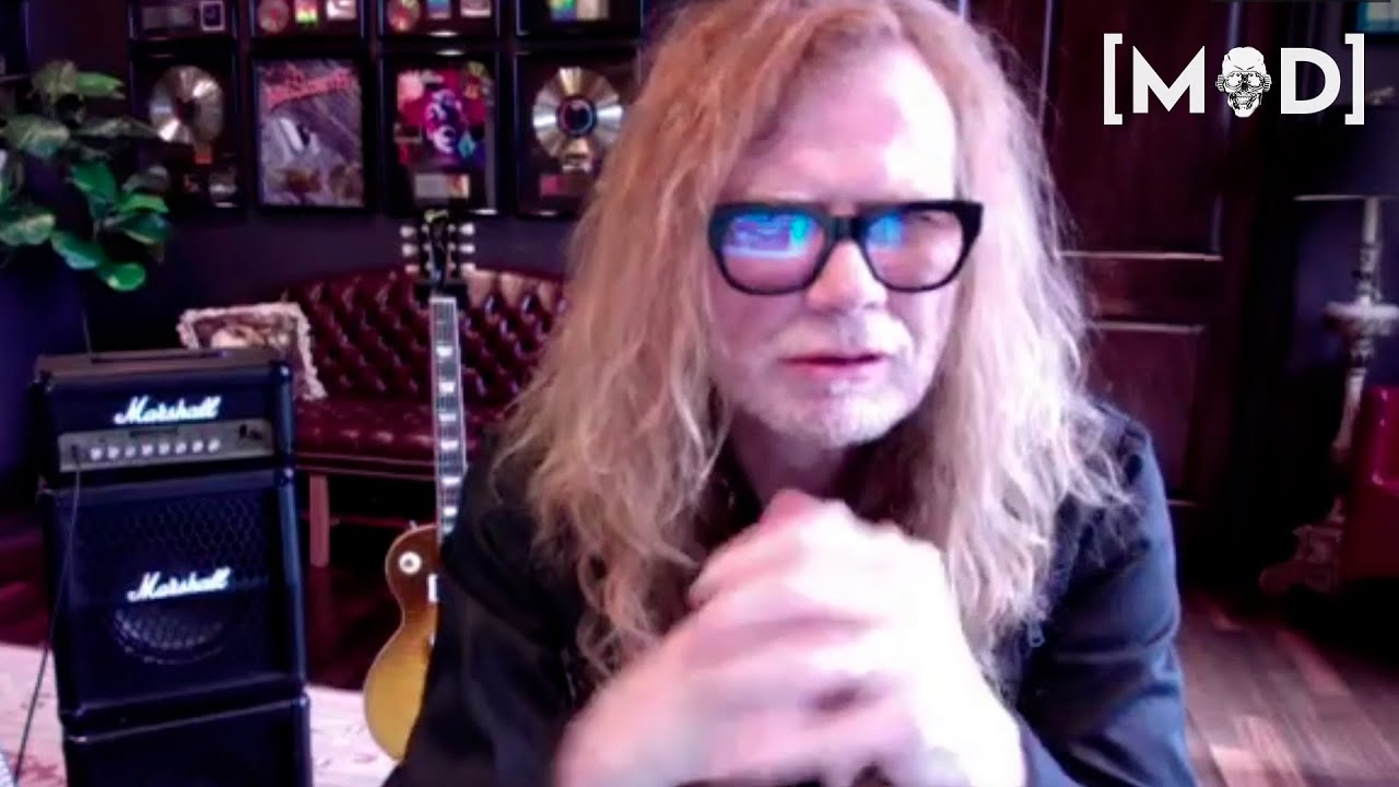 Dave Mustaine teases new Megadeth snippet and tentative album title