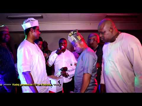 Abassy Obesere Akande PK1 in African Cultural Night Season 1 Ep.1 with (South Jersey business men)