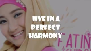 Fatin Proud Of You Moslem lyric