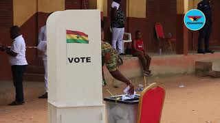 NDC decides: Voting at Amasaman Constituency