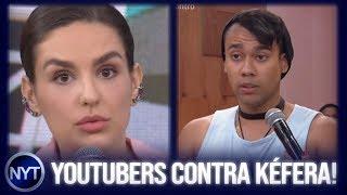 Kéfera é DETONADA por YouTubers após tentar LACRAR no Encontro com Fátima Bernardes