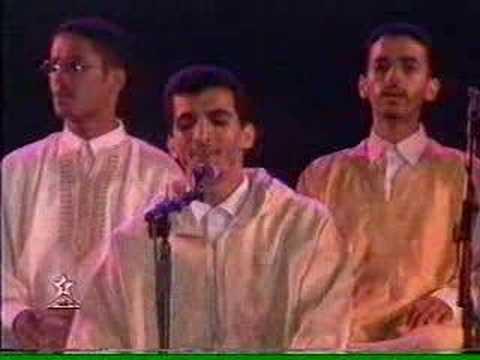 Rashid Ghulam song O before the Apostles Festival 2000 rabat