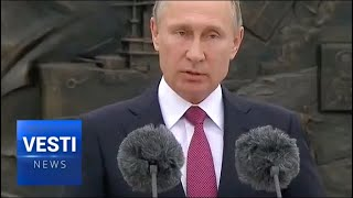 Putin Unveils Monument In Yalta to Emperor Alexander III Steeped in Russian Tradition and Strength