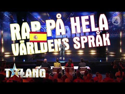Rezdar Bakri rappar på NIO olika språk