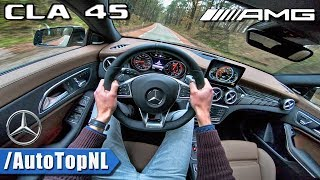 2018 Mercedes AMG CLA 45 Shooting Brake POV TEST DRIVE by AutoTopNL