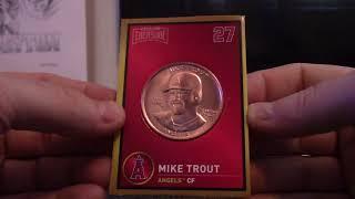Lucas' 2018 Hidden Treasures MLB Baseball Coins Gravity Feed Box Break