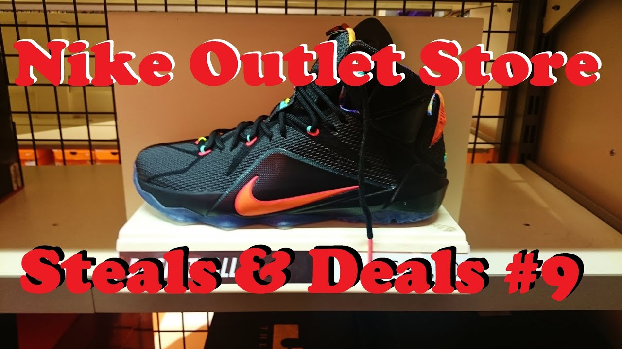 Nike Outlet Store STEALS & DEALS #9: LeBron 12 Data, Air Jordan 2