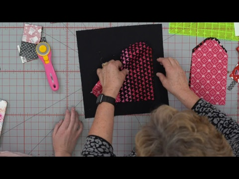Replay Make An Easy Woven Heart Applique With Misty And Jenny How To Video