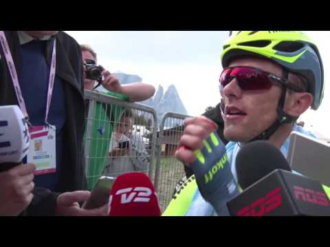 Rafal Majka - post-race interview - 15th stage - Tour of Ita