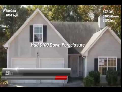jonesboro ga homes for sale | Bob Hale Realty $100 down program