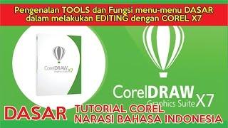 Belajar Tutorial Corel Draw x7 Bab pengenalan dasar-dasar corel ( narasi bahasa indonesia)