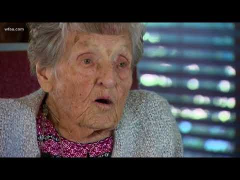 104-year-old woman's secret to a long life