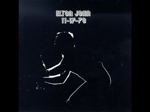 Elton John - Burn Down the Mission (Live in New York 1970) with Lyrics!