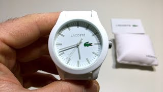 Lacoste Watch Unboxing