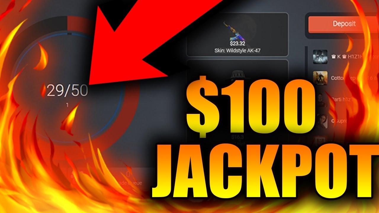 $100 SKIN JACKPOT! H1Z1 Jackpot Gambling! Win Rare Skins ...