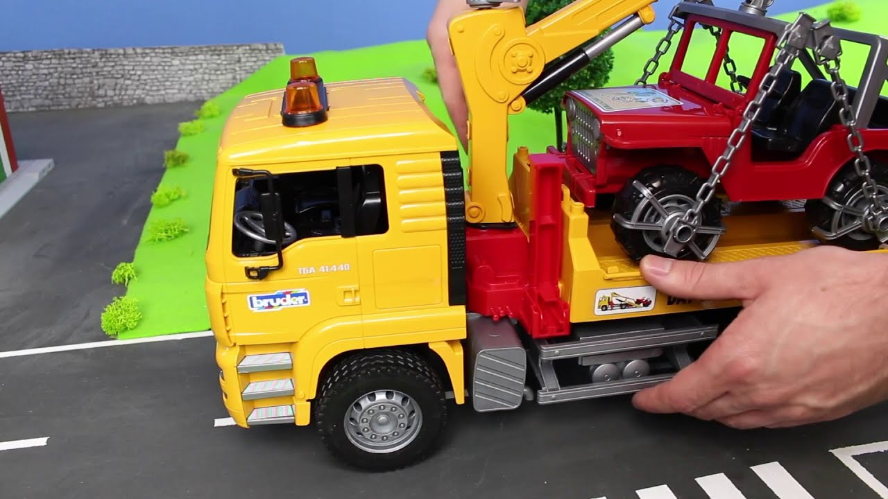 5285a1ac5 Fire Truck, Excavator, Dump Trucks, Tractor & Bulldozer | Bruder  Construction Toy Vehicles for Kids