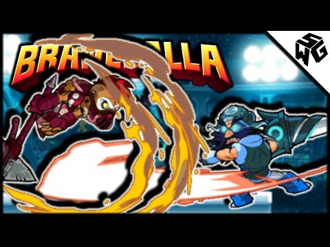 Diamond Ranked Barraza 1v1's - Brawlhalla Gameplay :: Learning Blaster Techs