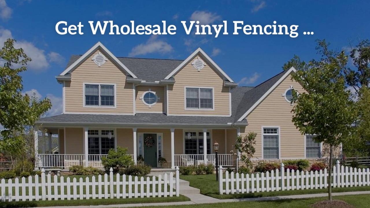 Wholesale vinyl fencing atlanta country estate vinyl fence youtube wholesale vinyl fencing atlanta country estate vinyl fence baanklon Gallery