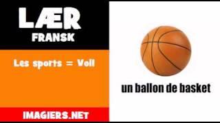 Lær fransk = Les sports = Vol1