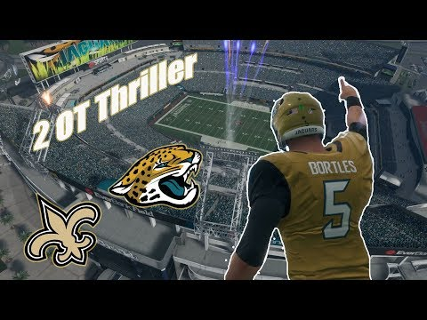 Come Through Blake Bortles | Jaguars vs Saints | Madden 18 Online Ranked
