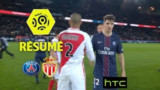 Paris saint-germain - as monaco (1-1)  - résumé - (paris - asm) / 2016-17