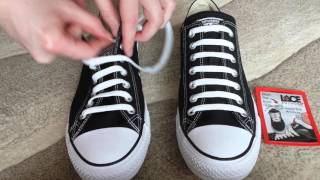 How To Bar Lace Converse