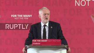 UK: Corbyn links UK foreign policy to terror threats