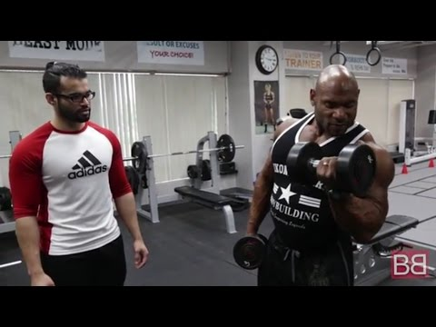 Alternate DUMBELL CURL with Fred BIGGIE Smalls (Pro Series)