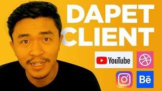 Dapet Client dan Project Desain dari Instagram dan Youtube??