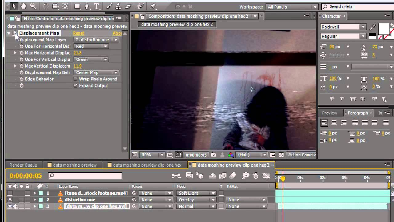 How To Create a Distorted VHS Effect in Photoshop t
