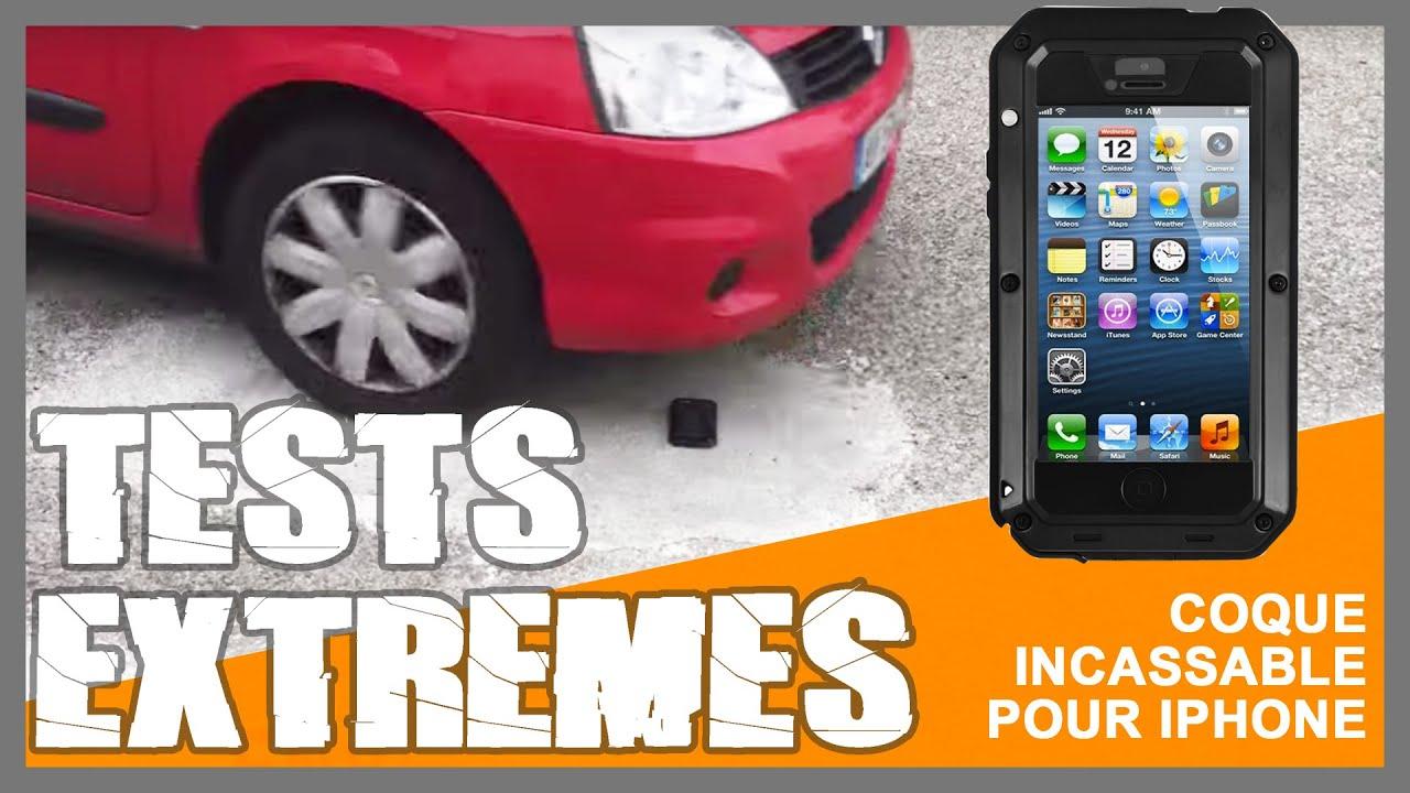 Tests extrêmes : coque Lunatik incassable pour iPhone