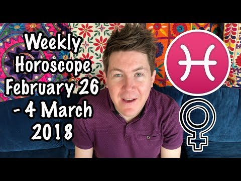 Weekly Horoscope for February 26 - 4 March, 2018 | Gregory Scott Astrology
