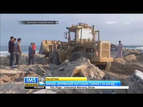 Serangan Udara Militer Israel Ke Gaza Sudah Berlangsung 3 Hari -IMS