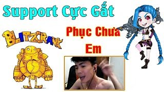 ThrowThi Cầm Blitzcrank SP Cực Gắt - Max Carry Team | NDT Gaming